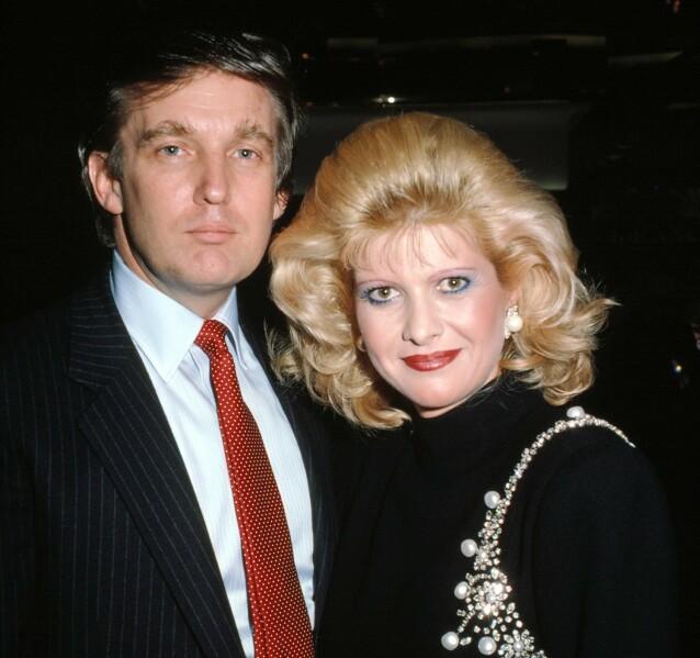 GIFT I 15 ÅR: Donald Trump og Ivana Trump skilte seg i 1992. Foto: NTB scanpix