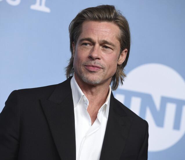<strong>INGEN PLANER OM Å GIFTE SEG:</strong> Selv om Brad Pitt skal ha funnet lykken på ny har han derimot ingen planer om å gifte seg igjen. Foto: NTB Scanpix
