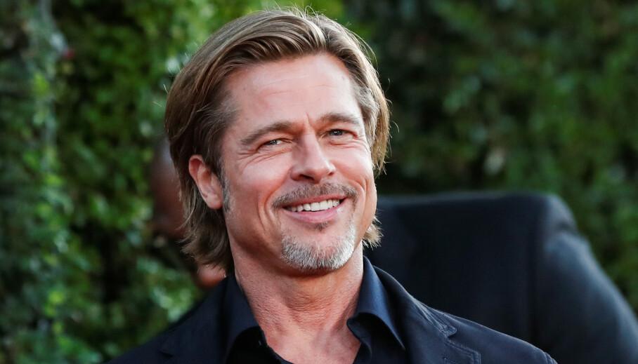 <strong>PÅ FLØRTERN:</strong> Siden slutten av august har det florert mange romanserykter mellom Brad Pitt og Nicole Poturalski. Nå overrasker sistnevnte stort ved å svare på et spørsmål om Brads ekskone Angelina Jolie. Foto: NTB Scanpix