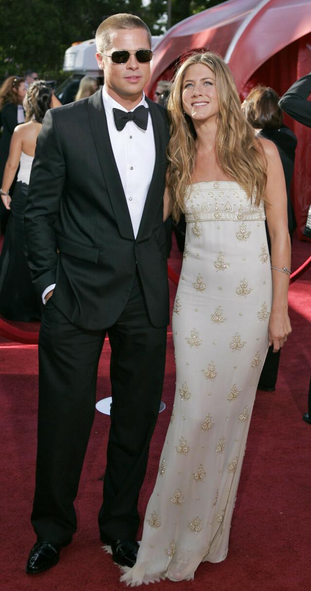 <strong>SISTE GANG:</strong> Emmy Awards i september 2004 ble siste gang ekteparet poserte sammen på den røde løperen. Foto: NTB Scanpix