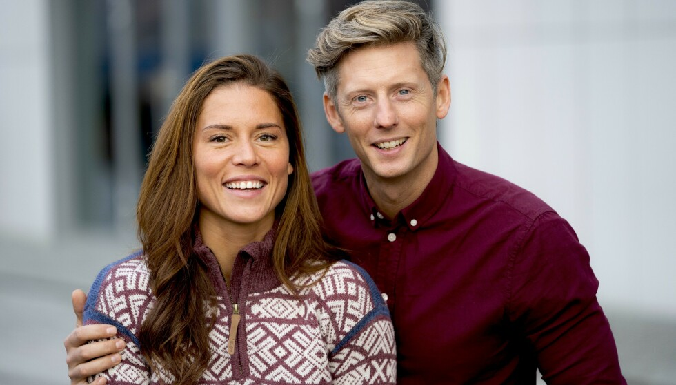 VENTER BARN: I mai ble det kjent at Gaute Grøtta Grav og forloveden Cathrine Montero Moen venter barn sammen. Nå røper de kjønnet på babyen. Foto: Espen Solli/ Se og Hør