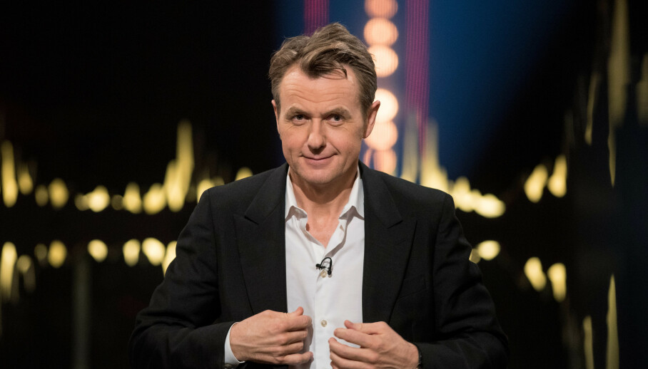 <strong>PAPPAPERM:</strong> Fredrik Skavlan forlater talkshowet for en tid mens hans skal ut i pappaperm. Foto: NTB