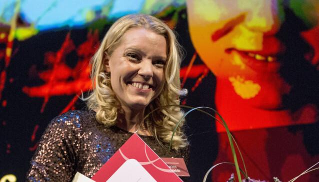 <strong>SKREKKSLAGEN:</strong> Carina Bergfeldt er både skrekkslagen og vanvittig glad for talkshow-mulighet. Foto: NTB.