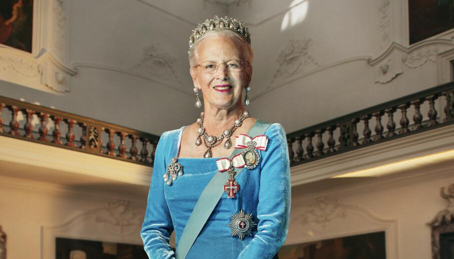 <strong>HISTORISK:</strong> Det nye bildet av dronning Margrethe (80) er det første offisielle portrettet siden 2012. Foto: Per Morten Abrahamsen/ Det danske kongehuset