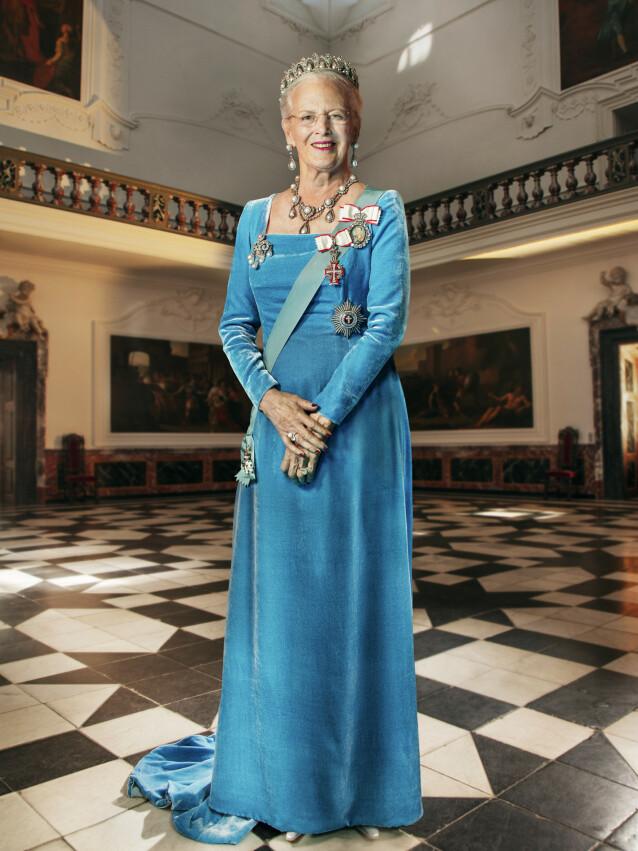 <strong>NYTT BILDE:</strong> Det nye bildet av dronninga ble tatt i sommer. Foto: Per Morten Abrahamsen/ Det danske kongehuset