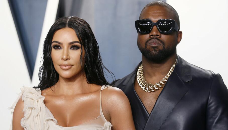 FORSYNT: Kim Kardashian West skal ha store planer om å skille seg fra ektemannen Kanye West. Foto: Danny Moloshok/ NTB