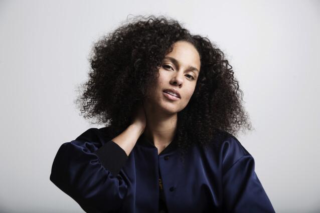 <strong>UNDERDOG:</strong> Alicia Keys ser på seg selv om en underdog. Foto: Taylor Jewell/ AP/ NTB