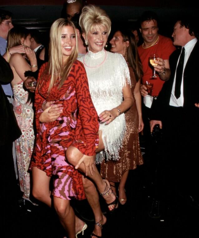 <strong>NÆRT FORHOLD:</strong> Mor og datter Trump har et nært forhold, og det er åpenbart at Ivana har store ambisjoner for datteren. Foto: NTB Scanpix