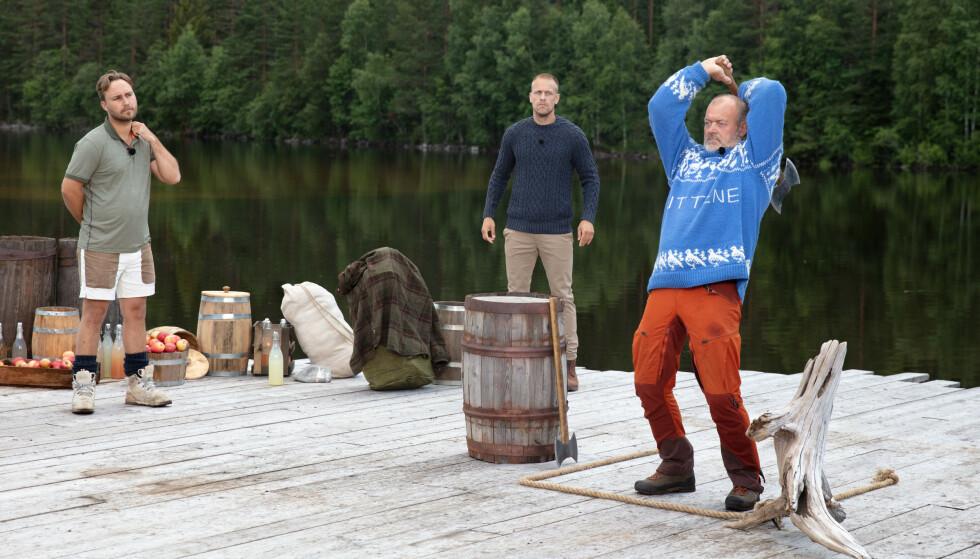 TAP: Jostein Grav traff blinken én gang, og sanket minst poeng. Foto: Alex Iversen / TV 2