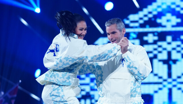 <strong>KOSTE SEG:</strong> Thomas Alsgaard innrømmet at han «dessverre» hadde fått litt for mye innflytelse i koreografien. Foto: Espen Solli / TV 2