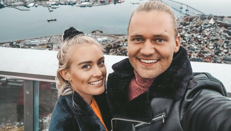 FLYTTER: Andrea Sveinsdottir og Morten Dalhaug har solgt leiligheten de kjøpte sammen. Nå avslører de hvor de flytter. Foto: Privat, gjengitt med tillatelse