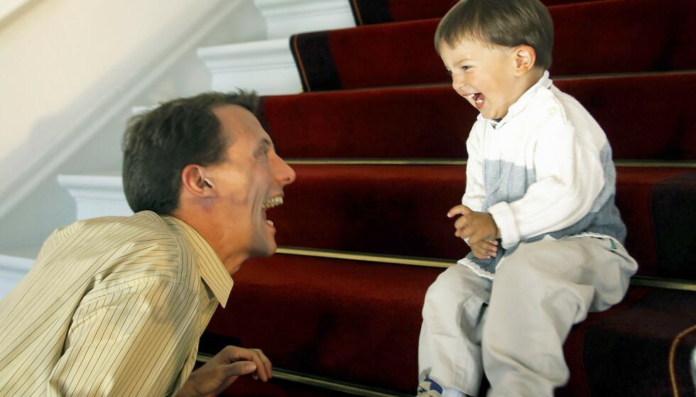 ØYENSTEN: Prins Nikolai er prins Joachims førstefødte, og de har alltid hatt et nært forhold. Men da pappa ville bestemme sønnens karriere, gikk det galt.