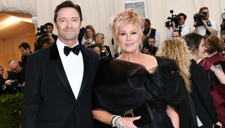 IKKE FORNØYD: Hollywood-stjernen Hugh Jackmans kone Deborra-Lee Furness går hardt ut mot rykte om ektemannen. Foto: Rob Latour/REX/NTB