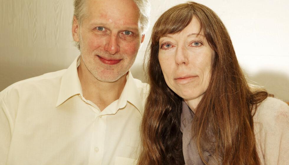 SYKEHUS- ROMANSE: Sandra og Tor Even ble kjærester mens de begge var til behandling på Bakke Rehabiliteringssenter ved Halden. Foto: Svend Aage Madsen/ Se og Hør