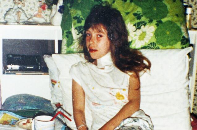 TIDLIG RAMMET: Sandra var ni år gammel da hun fikk kreft i skjoldbruskkjertelen. Kreften kan ikke bekjempes med verken stråling eller cellegift. Foto: Privat