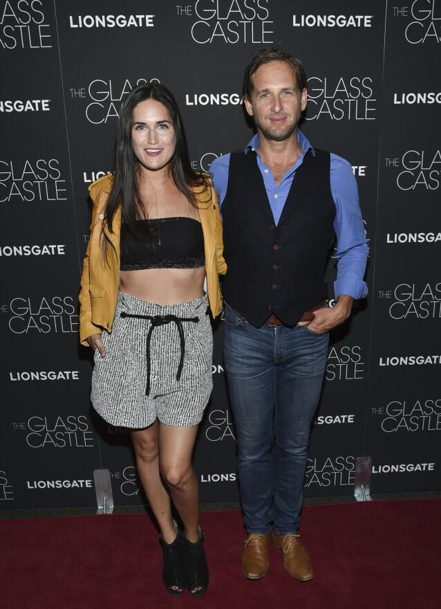 SKILT: Jessica Cinecin Henriquez var gift med skuespiller Josh Lucas fra 2012 til 2014. Foto: Evan Agostini/Invision/AP/NTB