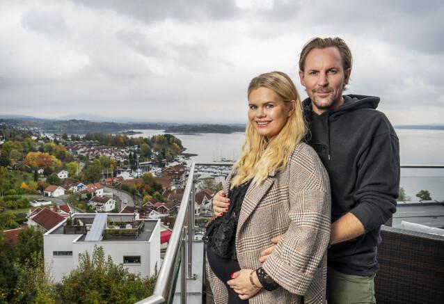 <strong>VENTER BARN:</strong> Julianne og Ulrik Nygård får et nytt tilskudd til familien neste år. Foto: Hans Arne Vedlog / Dagbladet