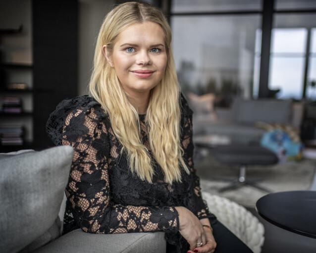 <strong>FØLER SEG HELDIGE:</strong> Julianne Nygård legger ikke skjul på at hun er redd for at noe skal gå galt i svangerskapet. - Det er litt rart å forstå at vi skal være så heldige en gang til, sier hun. Foto: Hans Arne Vedlog / Dagbladet