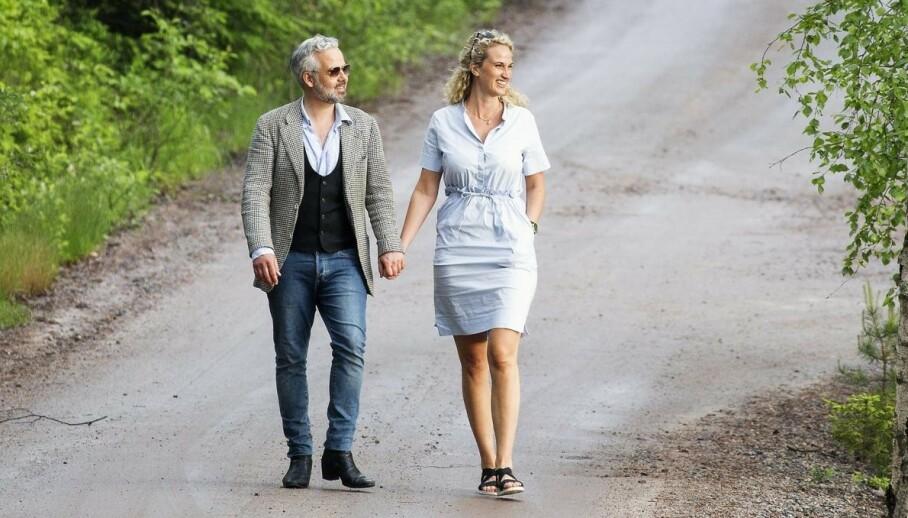 I SORG: Det har gått ni måneder siden Ari Behns bortgang. Nå åpner Ebba Rysst Heilmann seg om sitt siste farvel med kjæresten. Foto: Andreas Fadum/Se og Hør