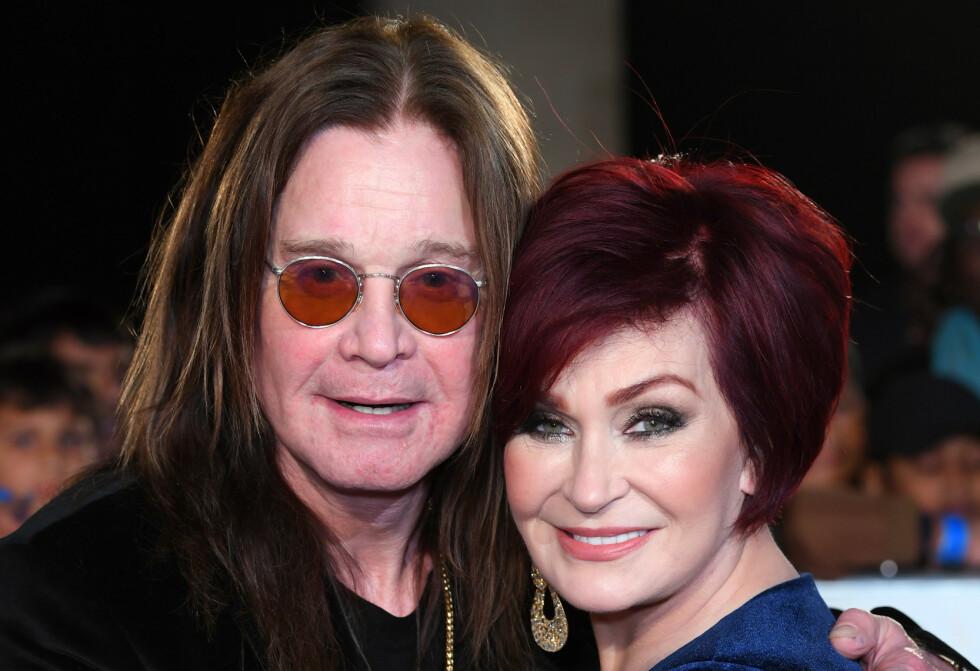 SVINDLET: Nylig oppdaget ekteparet Ozzy og Sharon Osbourne at de hadde blitt svindlet. Foto: David Fisher/ REX/ NTB