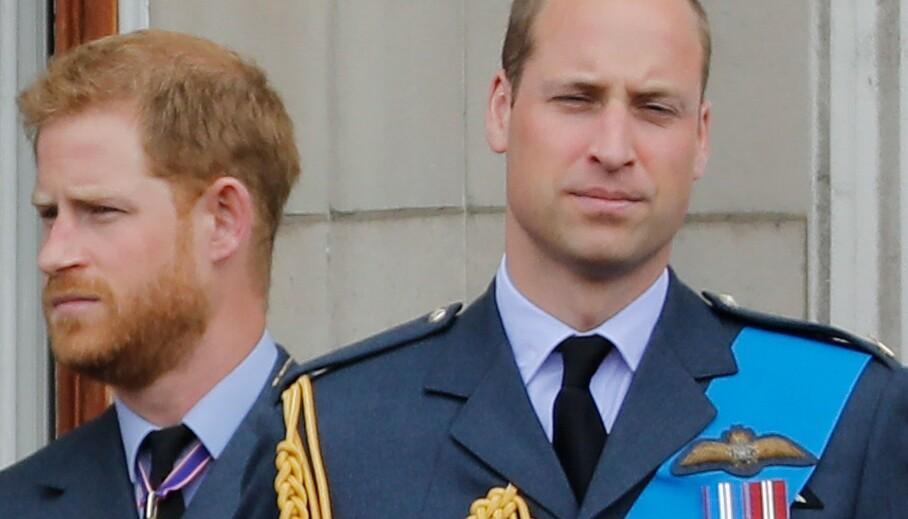 DÅRLIG FORHOLD? Nok en bok om den britiske kongefamilien kaster vann på ryktemølla. Det blir igjen hevdet at forholdet mellom prins Harry og prins William ikke er slik det en gang var. Foto: AFP / NTB