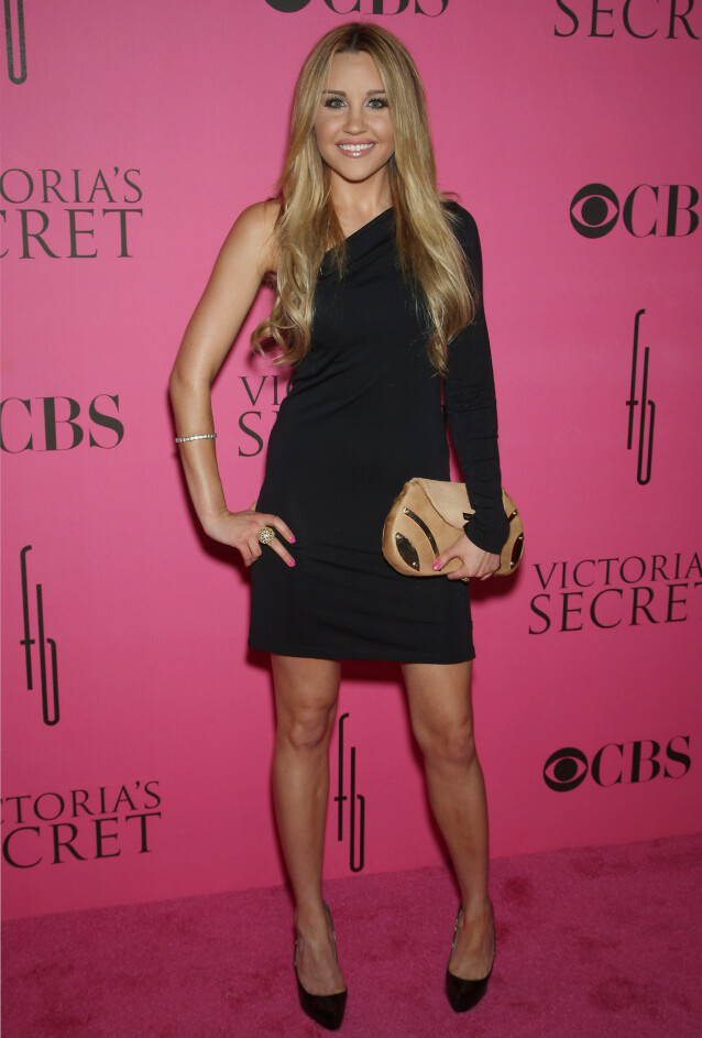 <strong>DEN GANG DA:</strong> Slik så Amanda Bynes ut i 2008, på toppen av karrieren. Siden har det gått nedover for den amerikanske skuespilleren. Foto: Marion Curtis/ Starpix/ REX/ NTB