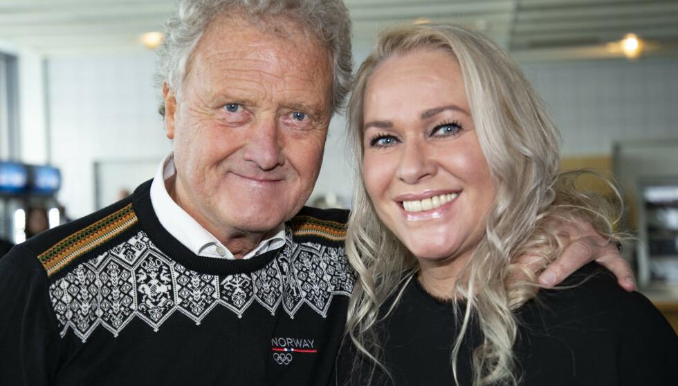 HAR STORKOST SEG: Dan Børge og kona Mette Akerø skal flytte fra sitt hjem på Fagerborg i Oslo. Foto: Geir Olsen / NTB
