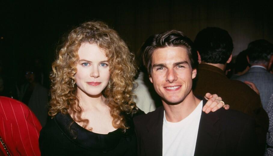 EKTEFELLER: Nicole Kidman og Tom Cruise giftet seg i 1990, men skilte lag elleve år senere. Ekteskapet er for lengst over, men Nicole uttaler seg nå om den tidligere ektemannen. Foto: Bei/REX/NTB