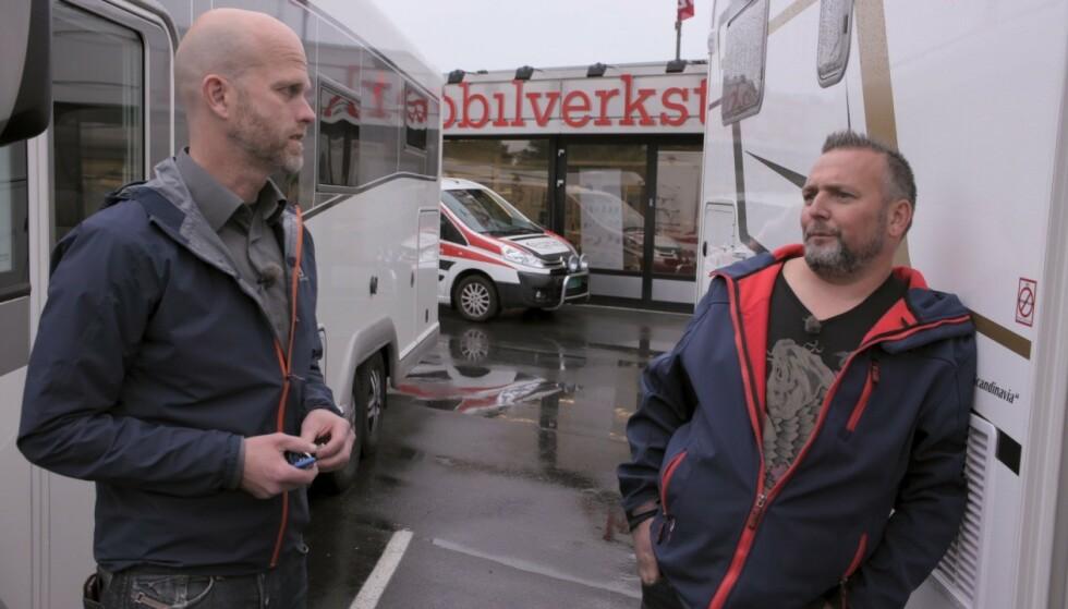 GIKK BRA TIL SLUTT: Mot slutten av tv-programmet så det ut til at de økonomiske problemene gikk innpå Kjell Roar Øverlier. Foto: TV3