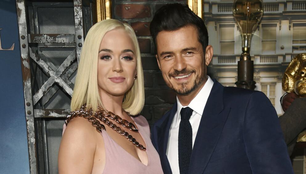 STOLTE FORELDRE: Katy Perry og Orlando Bloom har en datter sammen. Foto: Chris Pizzello/Invision/AP/NTB