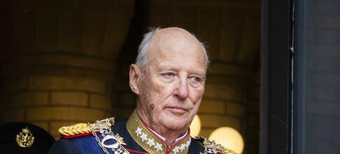 Kong Harald skal hjerteklaffopereres