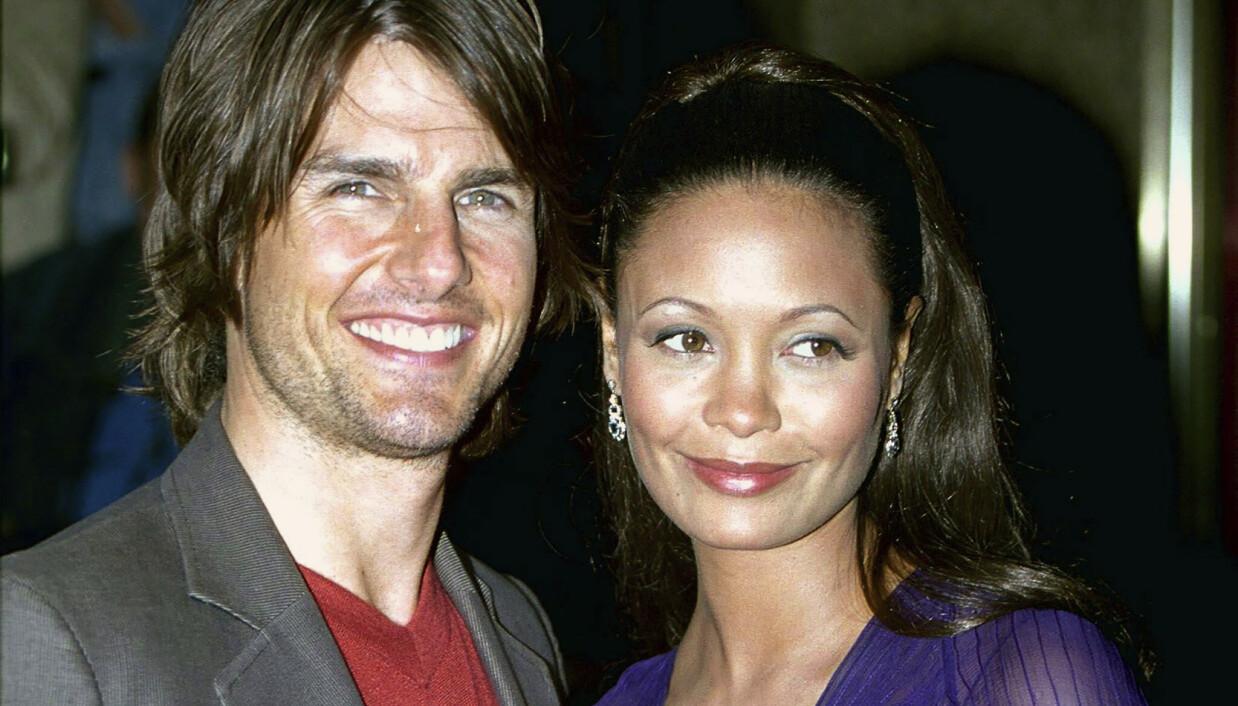 Lot som ingenting: Da «Mission: Impossible 2» hadde premiere smilte Thandie Newton sammen med Tom Cruise. Men alt var ikke bare fryd og gammen.