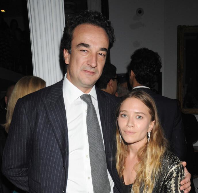 BRUDD: Mary-Kate Olsen og Olivier Sarkozy giftet seg i 2015. I mai ble det kjent at paret har gått hver til sitt. Foto: Johns Pki / Splash News / NTB