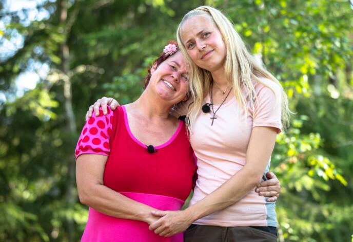 BEVARTE VENNSKAPET: Lene Egeland Hogstad forteller at hun og Tove Moss Lohne er nære venner på utsida - til tross tvekampen mot hverandre. Foto: Alex Iversen/TV 2