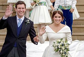 Deler hemmelige bilder fra bryllupet