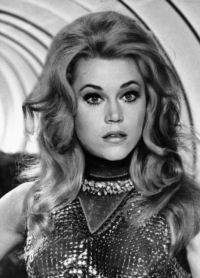DEN GANG DA: Jane Fonda er og forblir et Hollywood-ikon. Her er hun fotografert i 1967, i forbindelse med en filmrolle. Foto: AP, NTB