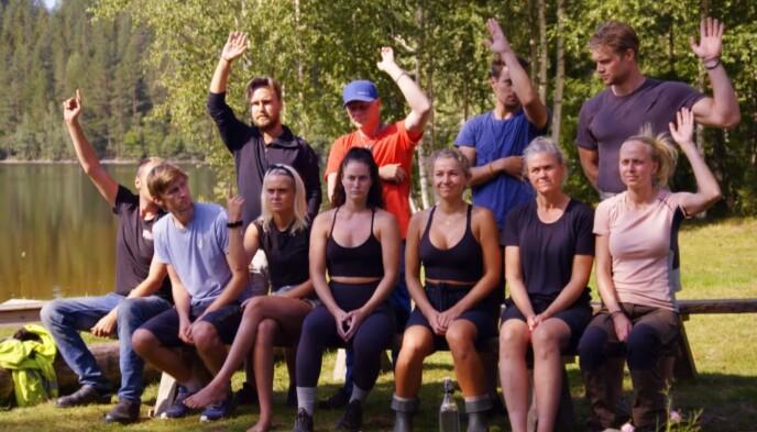 INNRØMMER REGELBRUDD: Sju av daværende elleve deltakere innrømmet overfor Mads Hansen å ha brutt reglene. Foto: TV 2
