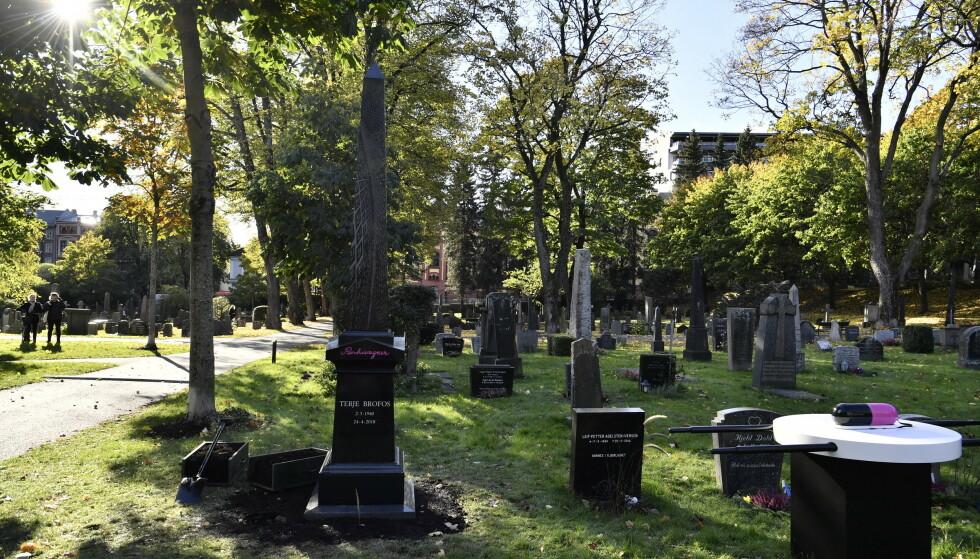 SISTE FARVEL: Pushwagner, kanskje ikke så uventet, får sitt siste hvilested på helt spesielt vis. Foto: Lars Eivind Bones/ Dagbladet