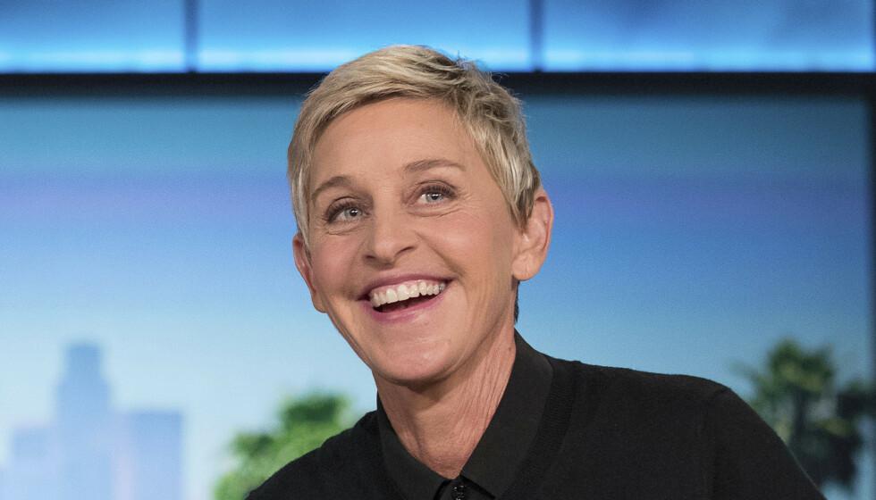 KJENTE LOKKER: Ellen DeGeneres har med årene blitt kjent for sin korte sveis - men den er nå historie. Foto: Andrew Harnik / AP / NTB