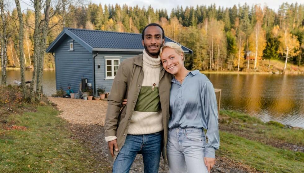 DELTE REAKSJONER: Etter det ble kjent at kjæresteparet Øyunn Krogh og Levi Try hadde stukket av med seieren i TV 2-programmet, var det flere som uttrykte sin misnøye i sosiale medier. Foto: TV 2