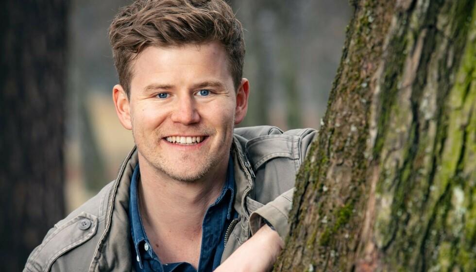 SKAL BLI PAPPA: NRK-profil Nicolay Ramm skal bli pappa for første gang neste år. Nå røper han kjønnet på babyen. Foto: Tor Lindseth/ Se og Hør