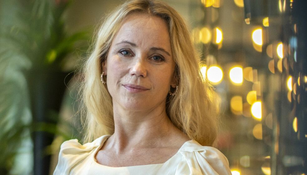 SUPERAKTUELL: Denne høsten blir Sofia Helin å se som kronprinsesse Märtha i NRK-serien «Atlantic Crossing». I den forbindelse har hun latt seg intervjue om privatlivet sitt. Nå avslører hun blant annet hvordan hun fikk sitt berømte arr. Foto: Heiko Junge / NTB