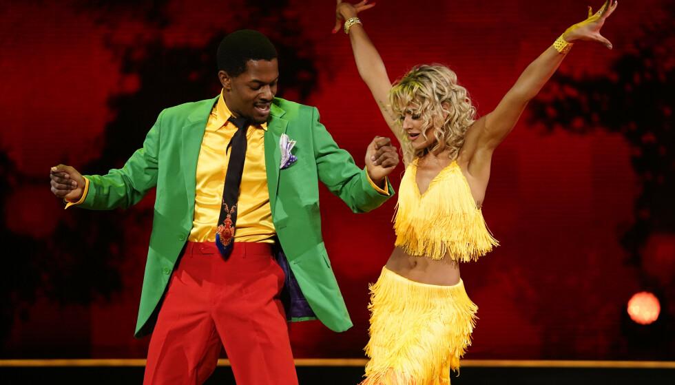 WOW: Nate Kahungu og Helene Spilling imponerte med en afrikansk samba. Foto: Espen Solli / TV 2
