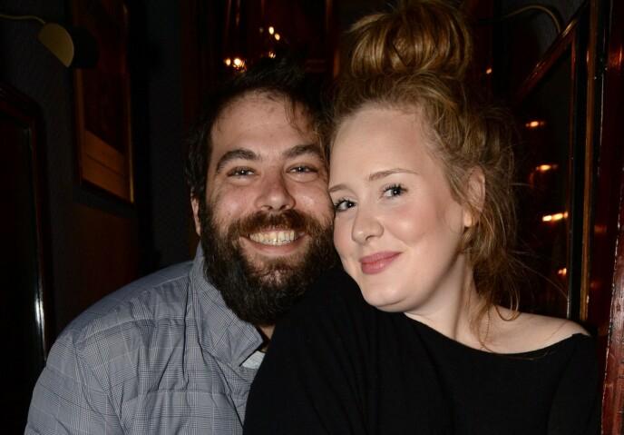 EKSMANNEN: Simon Konecki og Adele Adkins var gift i syv år før Adele ba om skillsmisse i 2019. Her er de avbildet sammen i 2013. Foto: Richard Young/REX/NTB