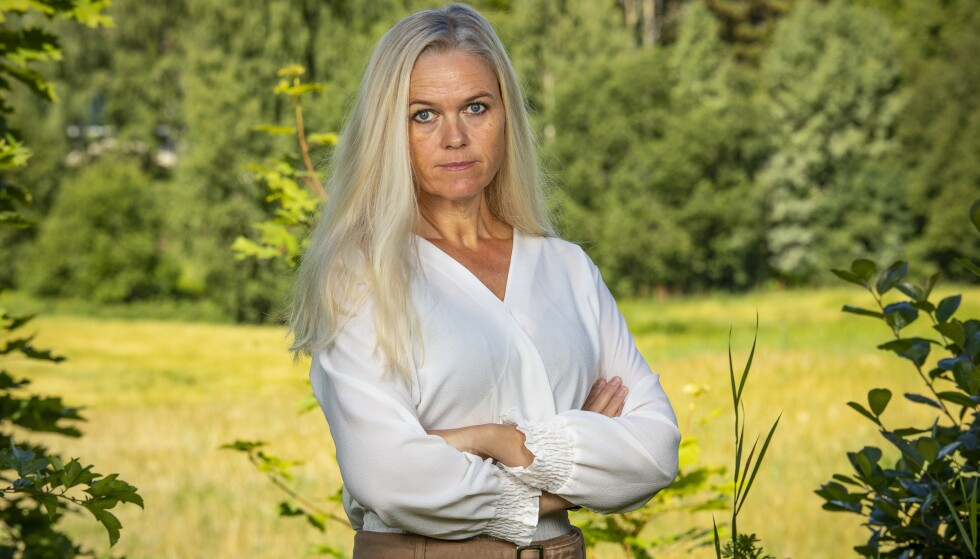 FIKK BREV: Deltaker Inger Cecilie Grønnerød fra Halden avslører at et mindre hyggelig brev dumpet ned i postkassa hennes. Foto: Tor Lindseth