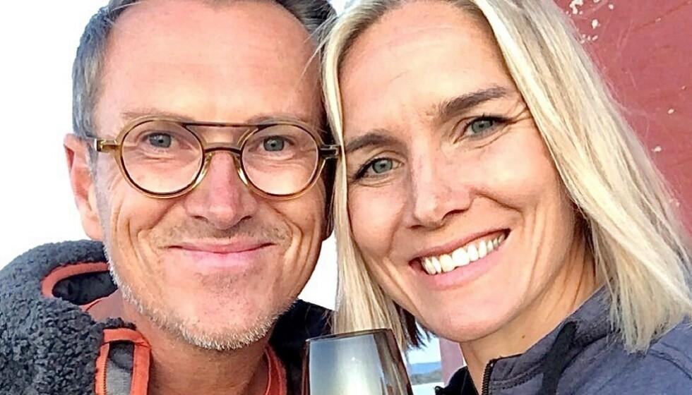 50 ÅR: Halvor Bakke fyller 50 år denne uka. Dagen skal feires med blant andre Gro Hammerseng-Edin, som også dukker opp i denne ukas episode av «Eventyrlig oppussing». Foto: Viaplay/TV3