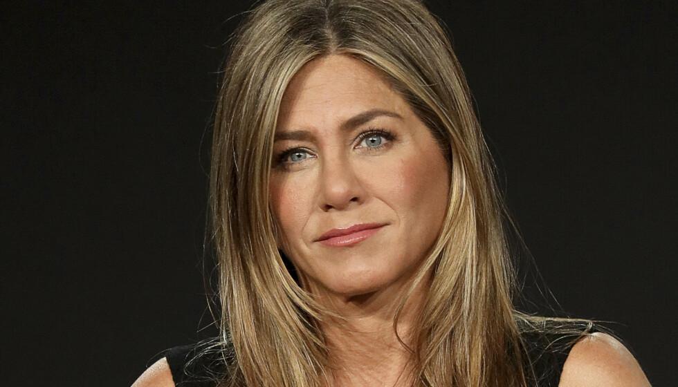 UT MOT KANYE: Jennifer Aniston oppfordret sine følgere til å ikke stemme på Kanye West. Nå har rapperen svart. Foto: Willy Sanjuan/AP/NTB