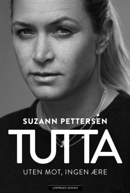 BOKA: Suzann Pettersens nye biografi. Foto: Cappelen Damm