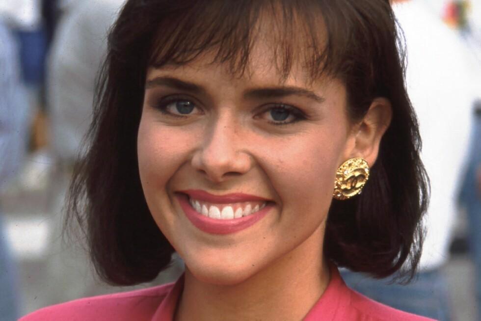 DØD: Tidligere Miss America og tv-profil Leanza Cornett har gått bort. Her er hun avbildet i 1992. Foto: BEI / REX / NTB
