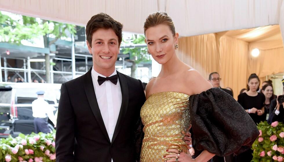 GODT GIFT: Paret giftet seg i 2018, og nå venter de ifølge People sitt første barn. Her er de på Met-gallaen i 2019. Foto: Andrew Kelly / Reuters / NTB
